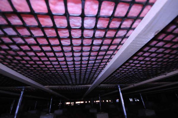 【床下の断熱施工】高性能断熱材150mm使用