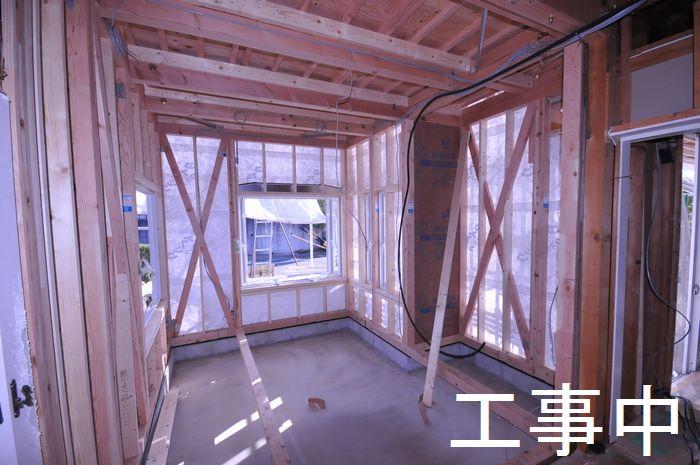 【工事中】1階増築部の様子