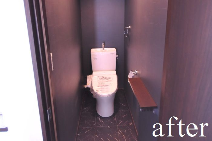 【リフォーム後 2階 トイレ】
