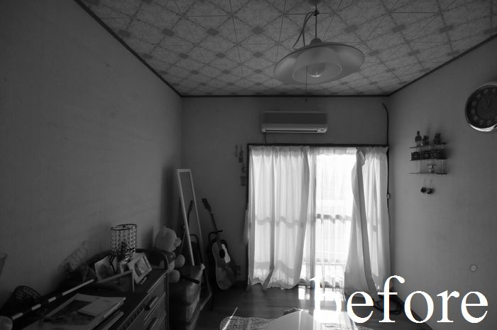【リフォーム前 2階 洋室A】