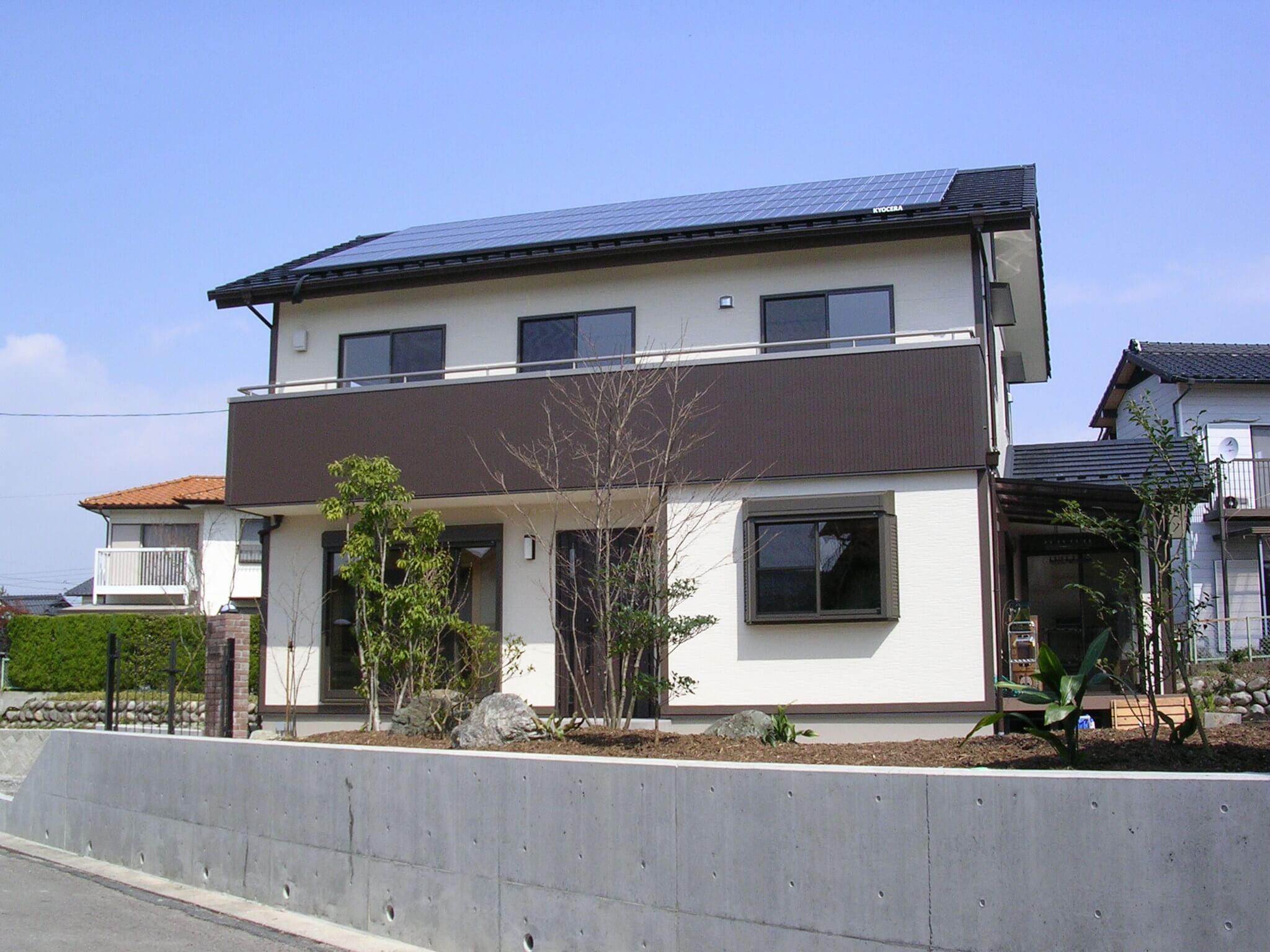 太陽光発電住宅 多治見市 S様邸