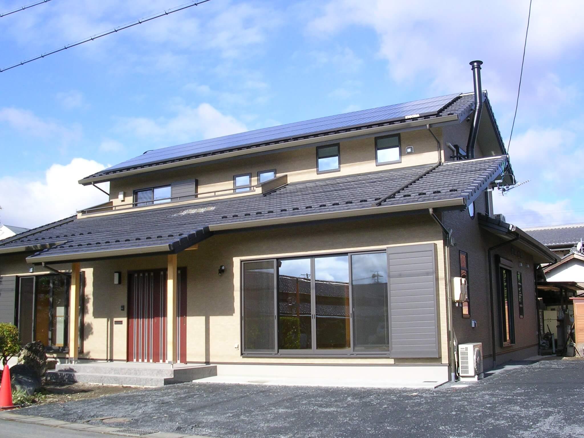 デザイン+太陽光発電住宅 多治見市 S様邸