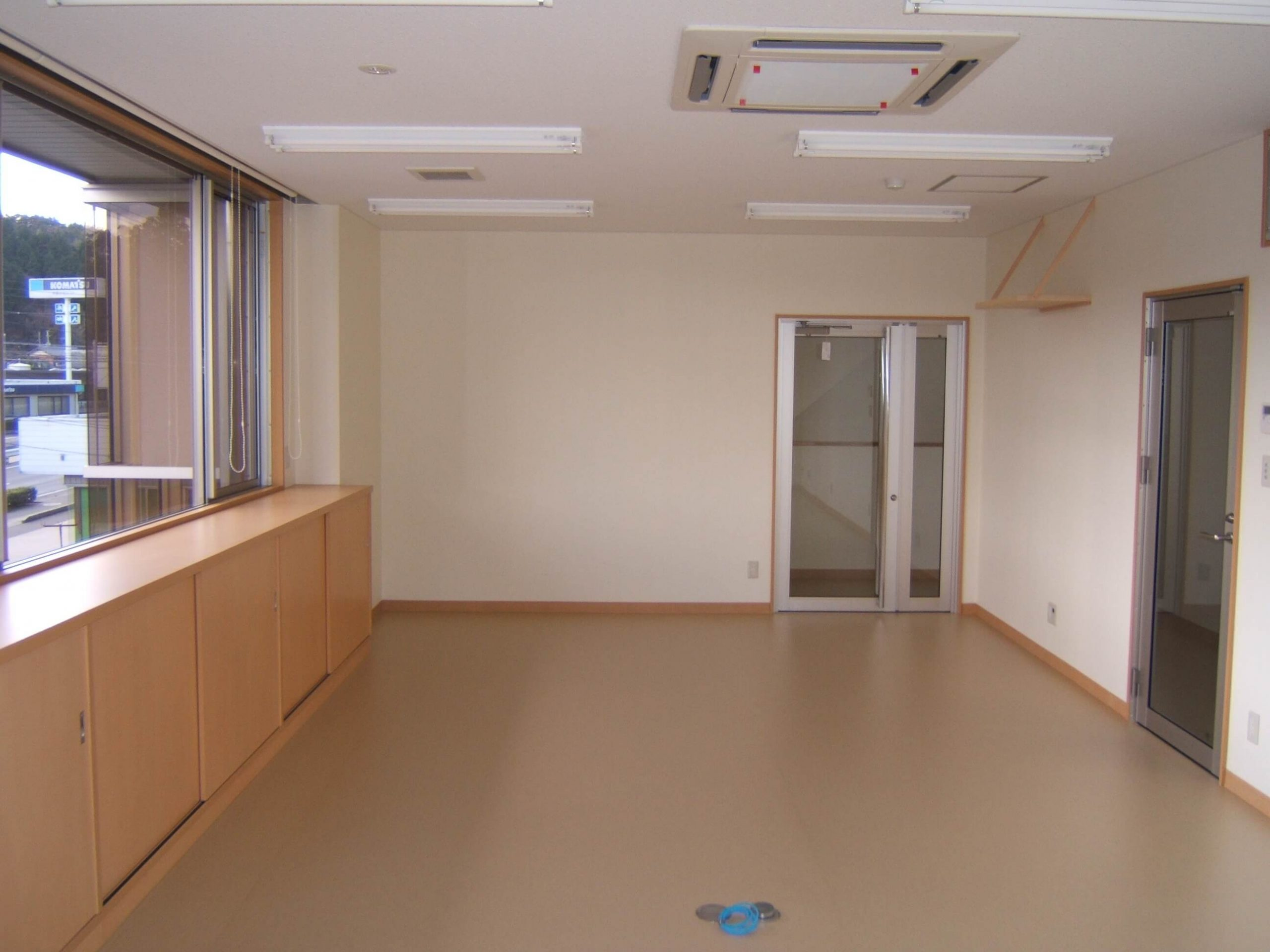 2階事務所の様子