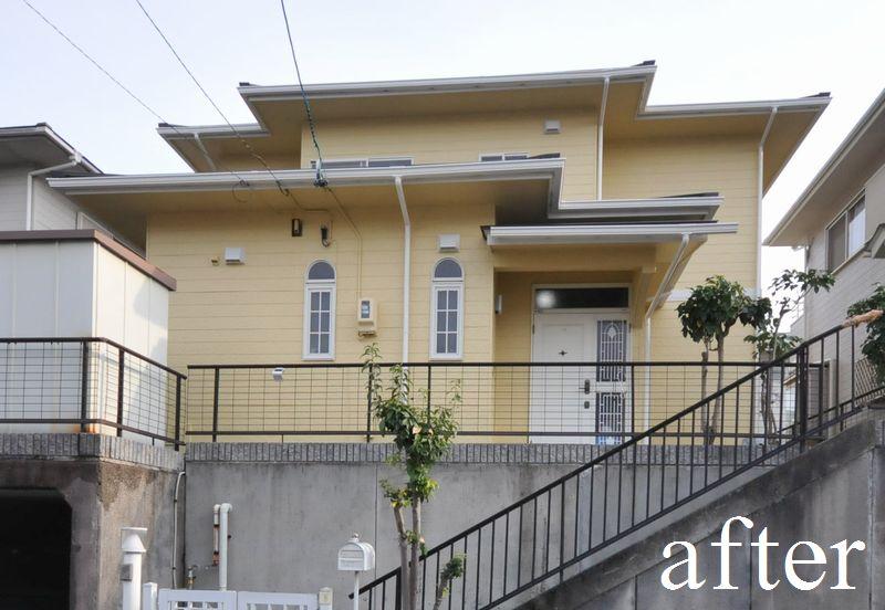 屋根改修・外壁等塗装・雨樋交換リフォーム 多治見市S様邸