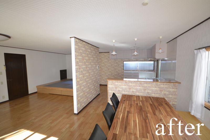 大規模リフォーム リビング・台所・寝室・浴室・屋根・外壁