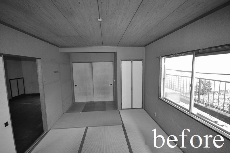 リフォーム前 1階 リビング隣の和室